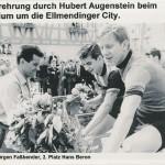 Siegerehrung zum Rennen Rund in Ellmendingen