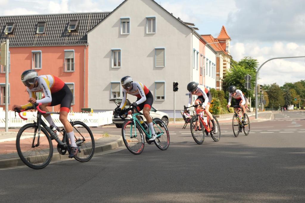 U17 Mannschaftszeitfahren Genthin 2019 LV-Baden