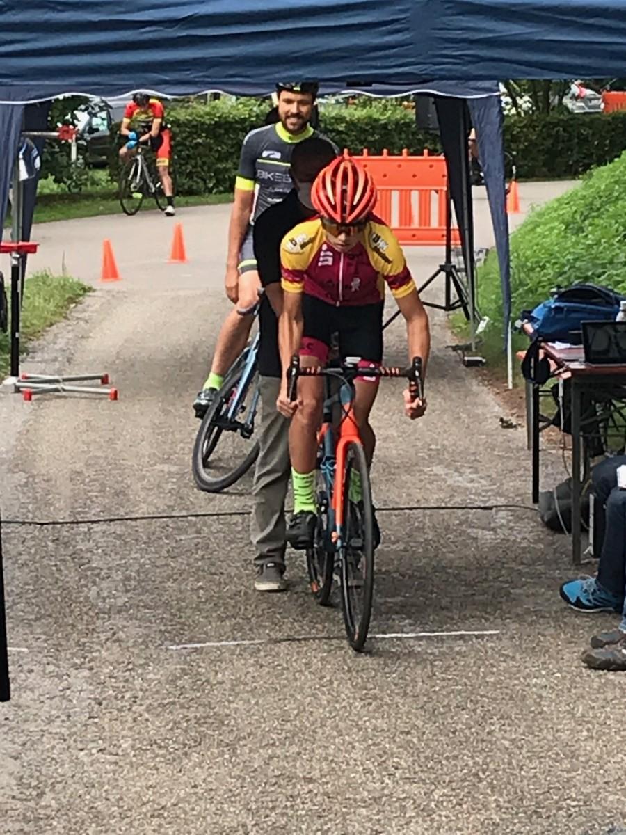 Christian Wiggisser auf dem Weg zu einem starken 4. Platz