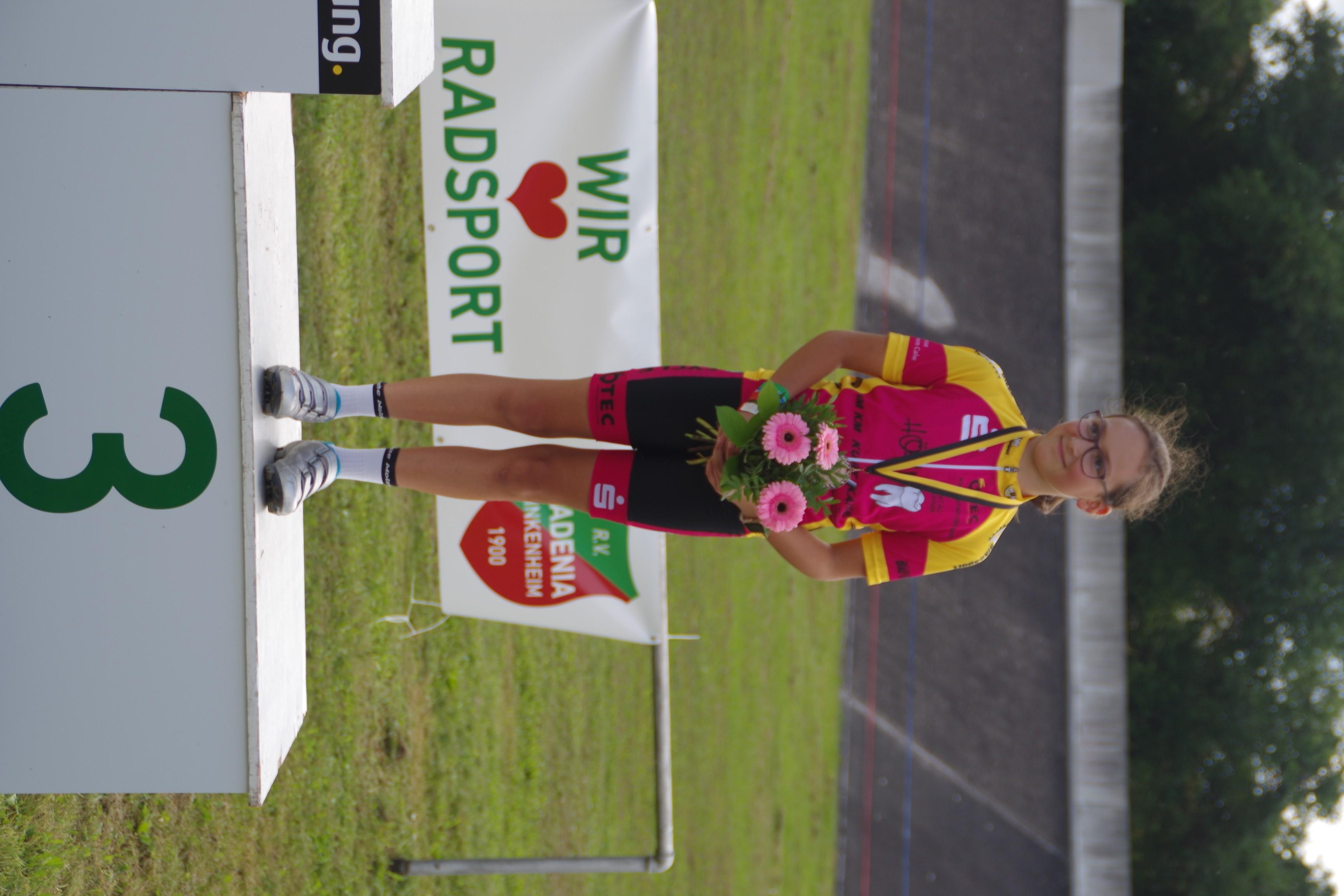 Lena Deschner Platz 3 bei den Landesmeisterschaften